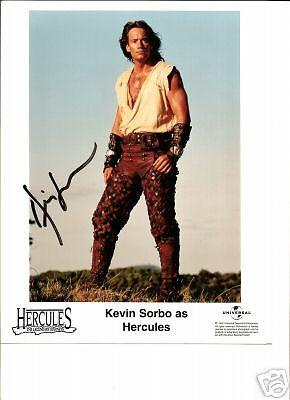 Kevin Sorbo Autographed 8x10 photo-Hercules