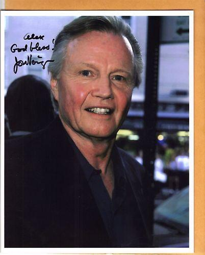 Jon Voight-signed photo