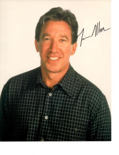 Tim Allen-signed photo-60 - COA