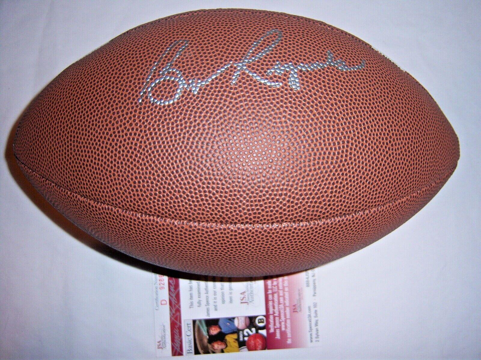 Burt Reynolds Florida State Seminoles,the Longest Yard Jsa/coa Signed Football