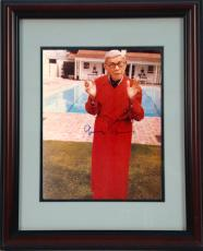 11x14 Autographed Frame - George Burns (Robe)
