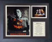 11x14 FRAMED 1978 HALLOWEEN CAST 8X10 PHOTO JOHN CARPENTER JAMIE LEE CURTIS