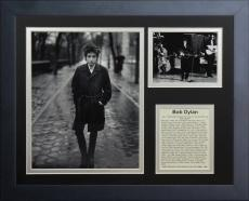 11x14 FRAMED BOB DYLAN ALBUM LIST TIMES THEY ARE A CHANGING HOF 1988 8X10 PHOTO