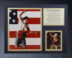 11x14 FRAMED BRUCE SPRINGSTEEN BORN IN THE USA ALBUM LIST 1973-2012 8X10 PHOTO