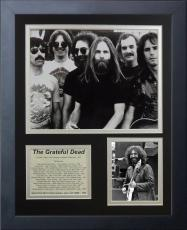 11x14 FRAMED JERRY GARCIA THE GRATEFUL DEAD BAND HOF 1994 ALBUM LIST 8X10 PHOTO
