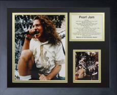11x14 FRAMED PEARL JAM THE BAND EDDIE VEDDER TEN VITALOGY ALBUM LIST 8X10 PHOTO