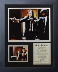 11x14 FRAMED PULP FICTION JOHN TRAVOLTA VINCENT VEGA SAMUEL JACKSON 8X10 PHOTO