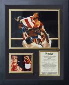 11x14 FRAMED ROCKY BALBOA THE MOVIE CAST 1976 SYLVESTER STALLONE 8X10 PHOTO
