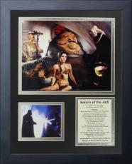 11x14 FRAMED STAR WARS RETURN OF THE JEDI 1983 YODA HARRISON FORD 8X10 PHOTO
