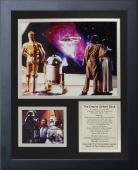 11x14 FRAMED STAR WARS THE EMPIRE STRIKES BACK YODA HARRISON FORD 8X10 PHOTO