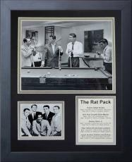 11x14 FRAMED THE RAT PACK POOL FRANK SINATRA SAMMY DAVIS DEAM MARTIN 8X10 PHOTO