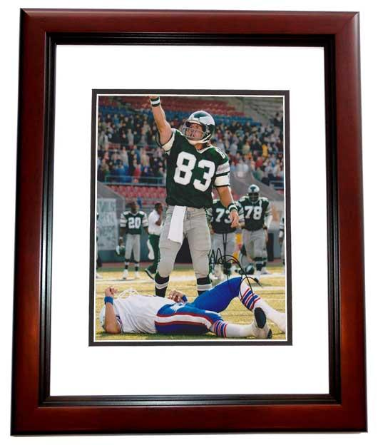 Mark Wahlberg Signed - Autographed 8x10 INVINCIBLE Photo MAHOGANY CUSTOM FRAME - Guaranteed to pass PSA or JSA as Vince Papale