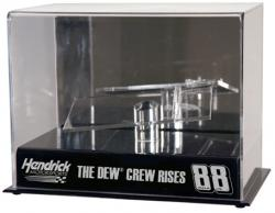 Dale Earnhardt, Jr. #88 Dew Crew 1:24 Die-Cast Case with Platform - Mounted Memories