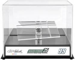 Carl Edwards 1:24 Die-Cast Roush Fenway Racing 25th Anniversary Display Case with Sublimated Plate - Mounted Memories