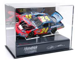 Jeff Gordon Die-Cast Case - Mounted Memories