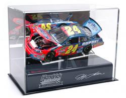 Jeff Gordon 1:24 Die-Cast 25th Anniversary Display Case with Platform - Mounted Memories