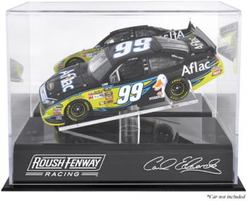 Carl Edwards Die-Cast Case - Mounted Memories