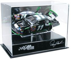 Denny Hamlin Die-Cast Display Case - Mounted Memories