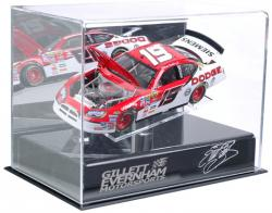 Elliott Sadler 1:24 Die-Cast Display Case with Platform - Mounted Memories