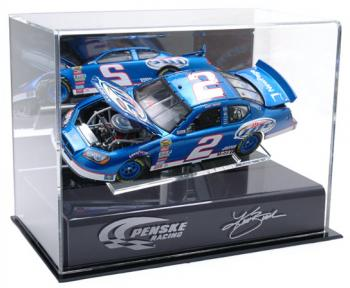 Kurt Busch 1/24'' Die Cast Display Case with Platform and Sheet Metal - Mounted Memories