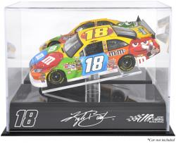 Kyle Busch Die-Cast Display Case - Mounted Memories