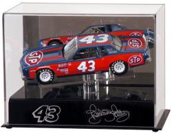 Richard Petty Die-Cast Case - Mounted Memories