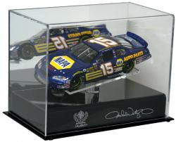 Michael Waltrip 1:24 Die Cast Display Case with Platform - Mounted Memories