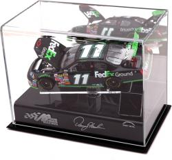 "Denny Hamlin 1/24"" Die Cast Display Case with Platform and Sheet Metal"