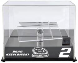 Brad Keselowski 2012 Sprint Cup Series Champion 1:24 Die-Cast Display Case with Race-Used Tire - Mounted Memories