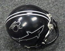 13169 Al Pacino Signed Any Given Sunday Sharks Mini Helmet ITP AUTO PSA/DNA COA