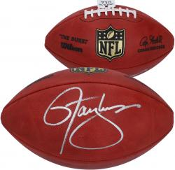 Wilson Lawrence Taylor New York Giants Autographed Authentic Game Football - Mounted Memories