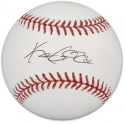 Kason Gabbard Texas Rangers Autographed Baseball
