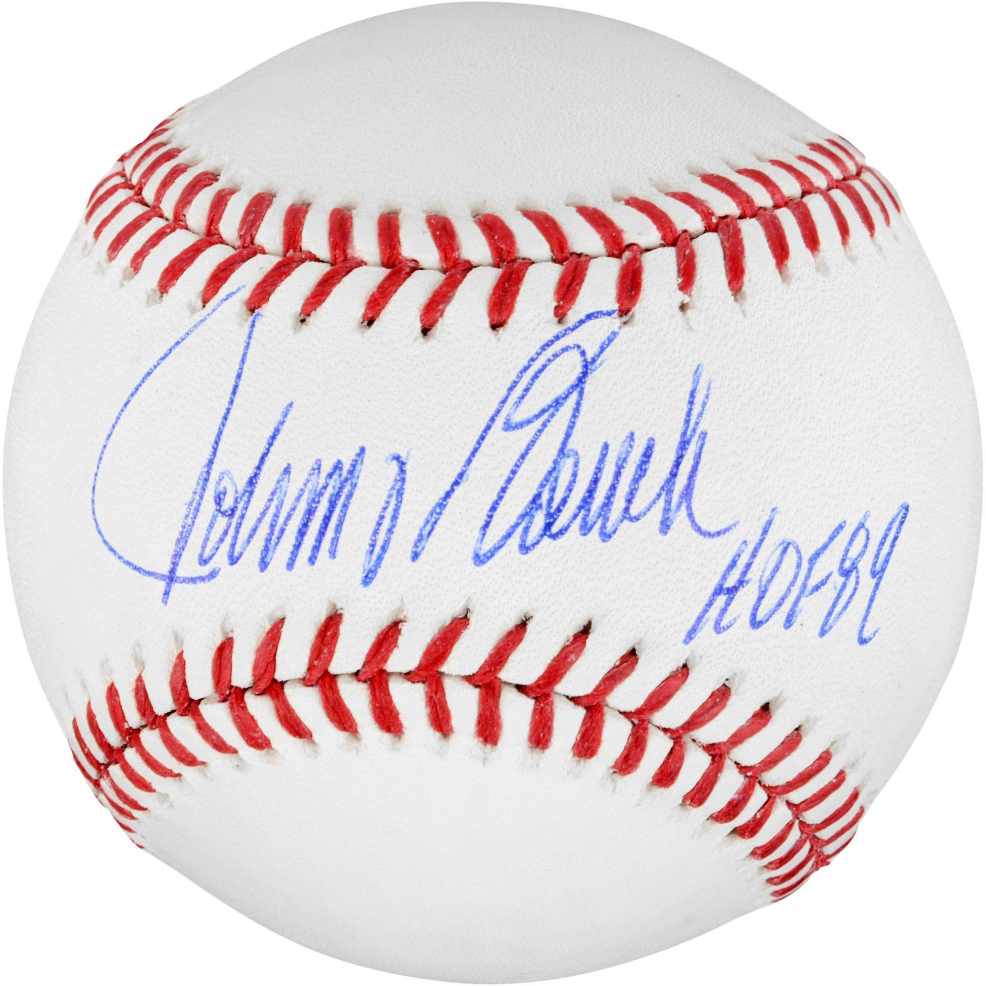 Johnny Bench Cincinnati Reds Autographed Baseball with HOF 89 Inscription