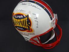 (14) Astronauts Multi-Signed Super Bowl XXXVIII Helmet Auto PSA/DNA AD09461