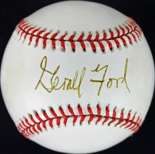 President Gerald Ford Signed OAL Baseball Autographed JSA #Y62471