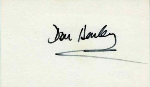 Don Henley Eagles Signed Index Card Certified Authentic PSA/DNA COA AFTAL