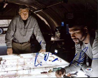 Liam Neeson & Rampage Jackson A-Team Signed 11X14 Photo PSA #K63360
