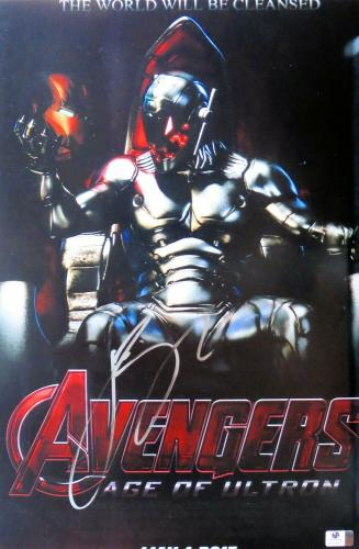 James Spader Signed Autographed 12X18 Photo Avengers: Age of Ultron JSA T60111