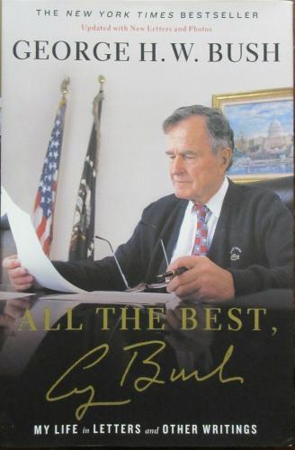 President George H.W. Bush Signed Book - Beckett BAS