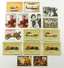 (15) Vintage Trading Cards ^ Topps Scoop Wings Fabian Beatles Oak Mfg Cars