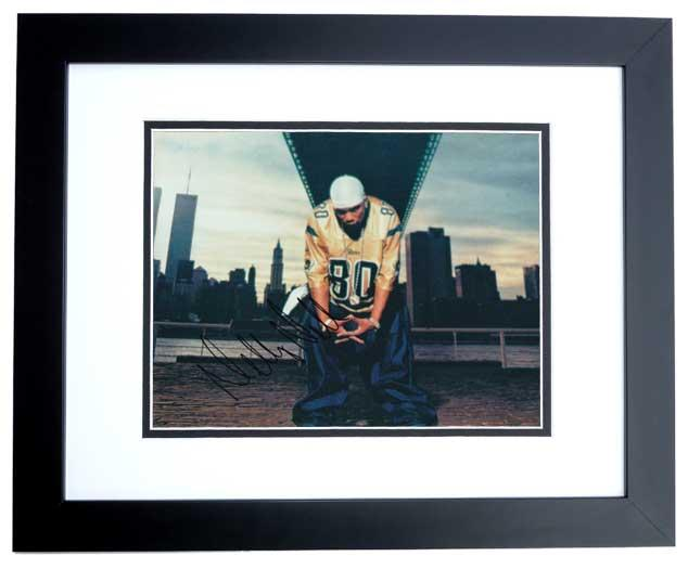 Nelly Nell Signed - Autographed 8x10 St. Louis Photo BLACK CUSTOM FRAME - Guaranteed to pass PSA or JSA - Rapper/Actor