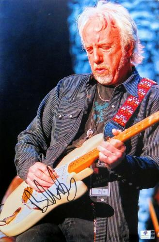 Brad Whitford Signed Autographed 10X15 Photo Aerosmith Guitarist JSA T59742