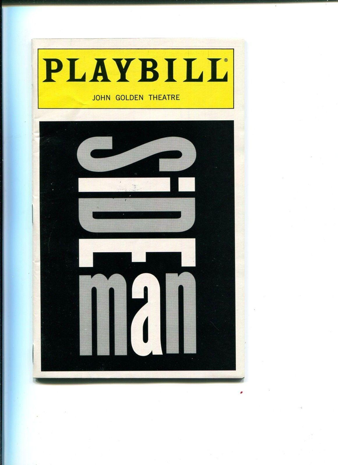 Edie Falco Robert Sella Sideman Broadway Cast Rare Signed Autograph Playbill