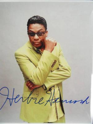 Herbie Hancock Signed 8x10 Grammy Winner Jazz Legend