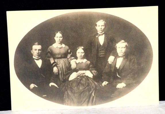 "1860's John D Rockefeller, ""Birth of a Dynasty"" Family Portrait, 1910's Restrike"