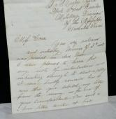 1864 Civil War Letter From Soldier Responding to Lady Who Answered Lonely Hearts