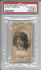 1880 N342 Between the Acts 6 Card Graded Lot PSA Authentic