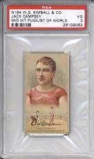 1888 N184 W.S. Kimball & CO. JACK DEMPSEY Pugilist of World PSA 3