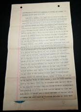 1898 Document to Issue Capital Stock by Monmouth Park Signed by George Wurts