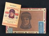 1900-1910's, Traiser's Harvard Football Cigar Box & Matching Advertising Pouch